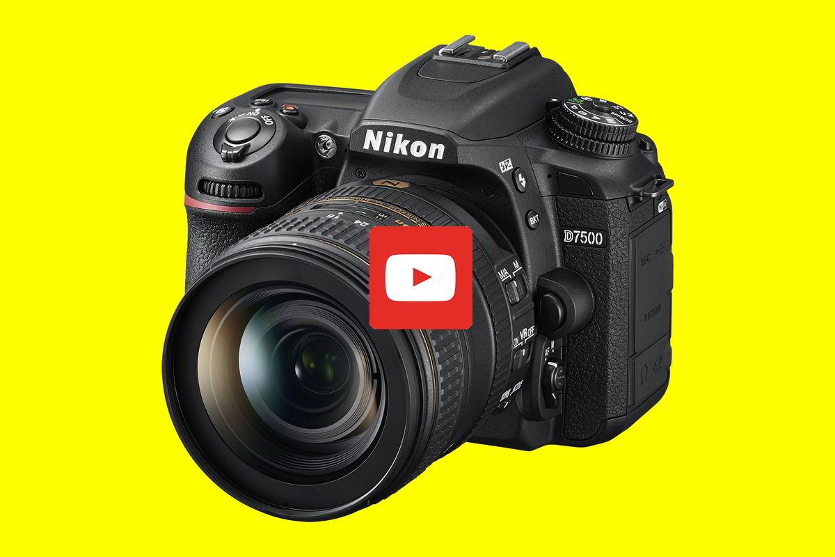 Video: Nikon D7500