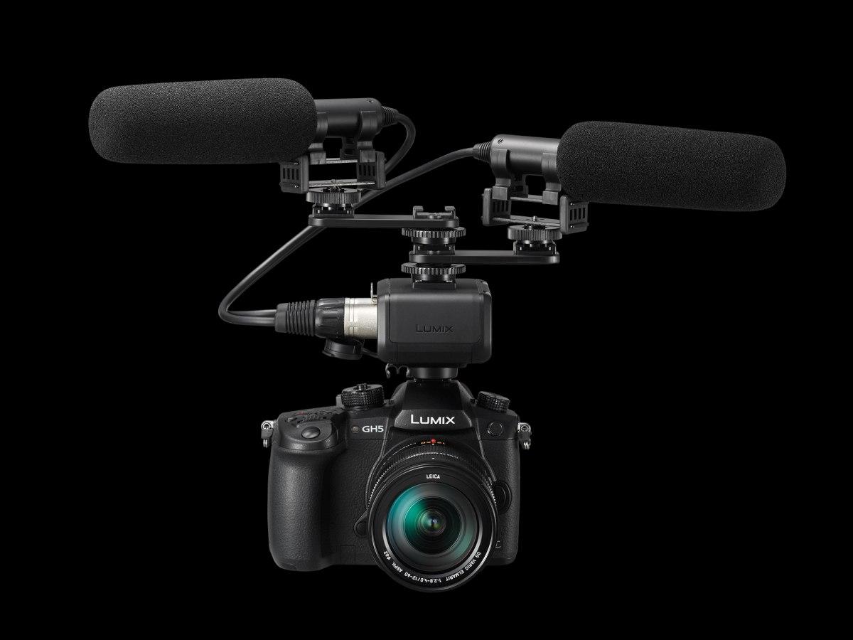 Panasonic Lumix GH5 - natáčení videa (F22.cz)