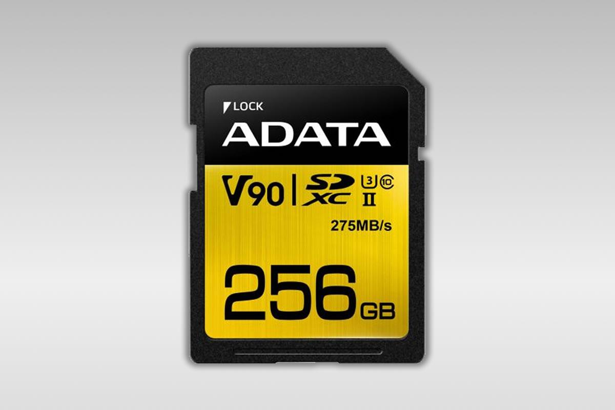 Co umějí vysokorychlostní karty Adata