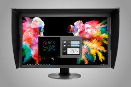 kalibrace monitoru a tiskárny - Quick Color Match - kalibrační software Eizo, kalibrace tiskárny a monitoru / videopořad F22.cz