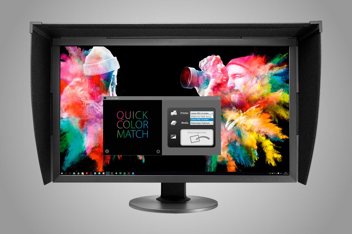 Společná kalibrace monitoru a tiskárny pro tisk fotografií