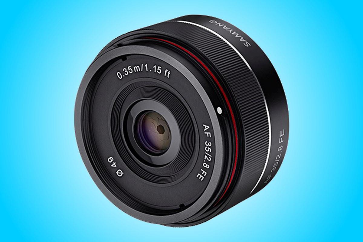 Pevný objektiv Samyang AF 35mm F2,8 FE pro Sony
