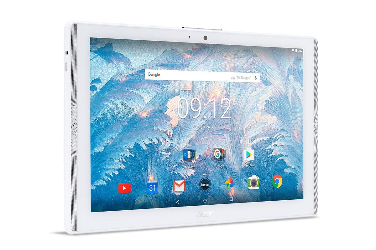 Tablety Acer Iconia mají displeje skvantovými tečkami