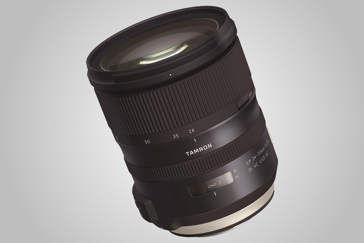 Univerzální objektiv Tamron  24-70 mm F2,8 ve verzi G2