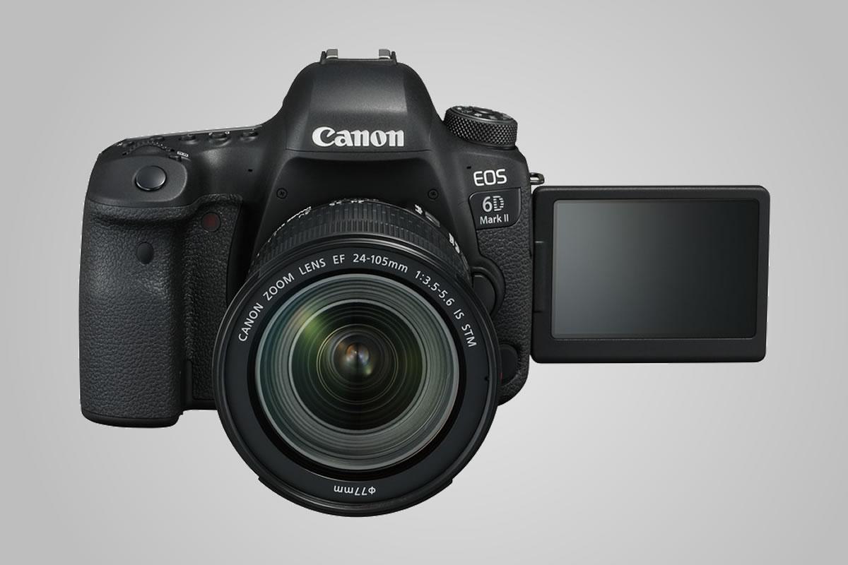 Canon EOS 6D Mark II oficiální údaje
