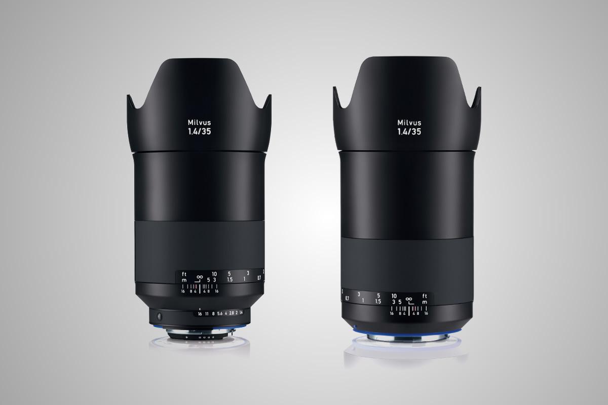 objektiv Zeiss Milvus 35 mm F1,4 / F22.cz