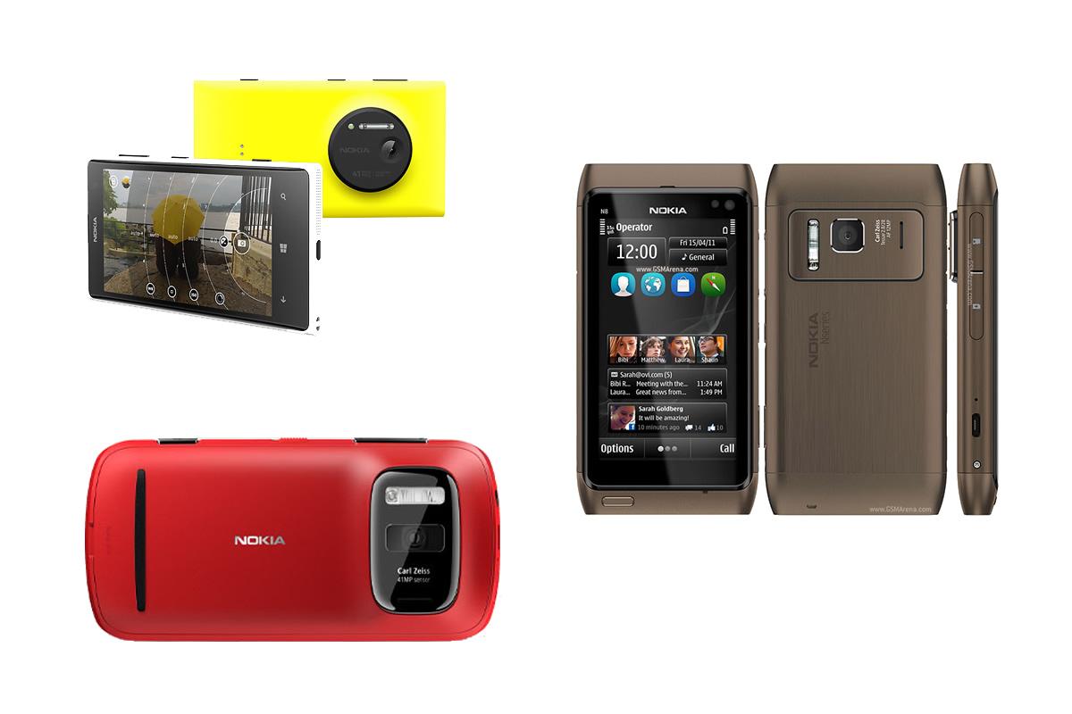 starší telefony Nokia