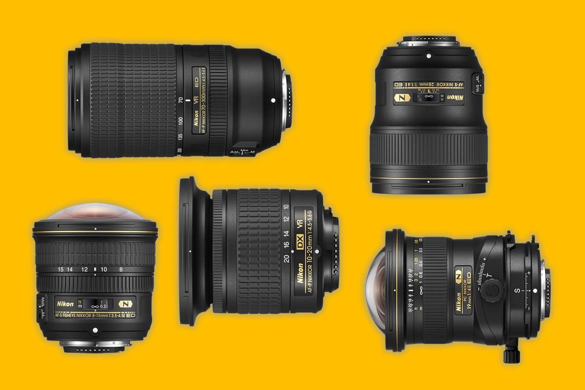 Jak se vyznat ve zkratkách a označení objektivů: Nikon