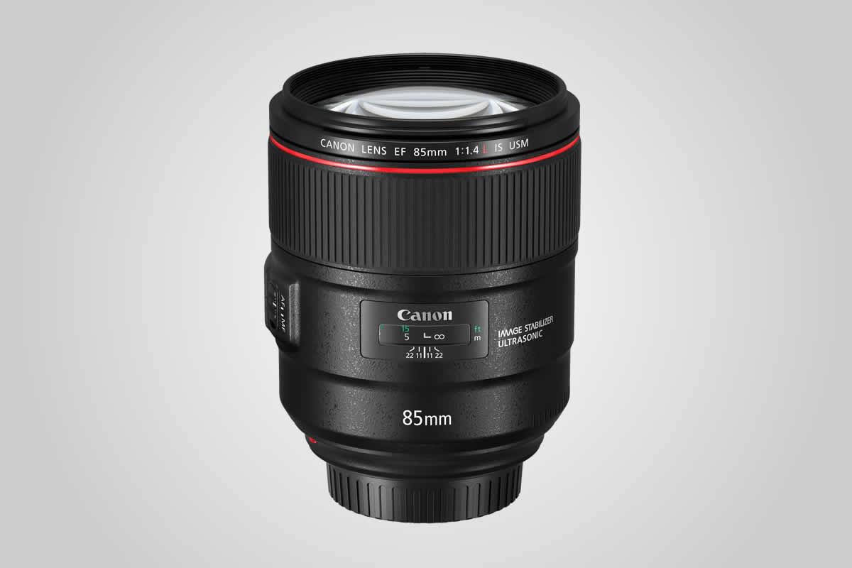objektiv Canon EF 85 mm F1,4 L IS USM / F22.cz