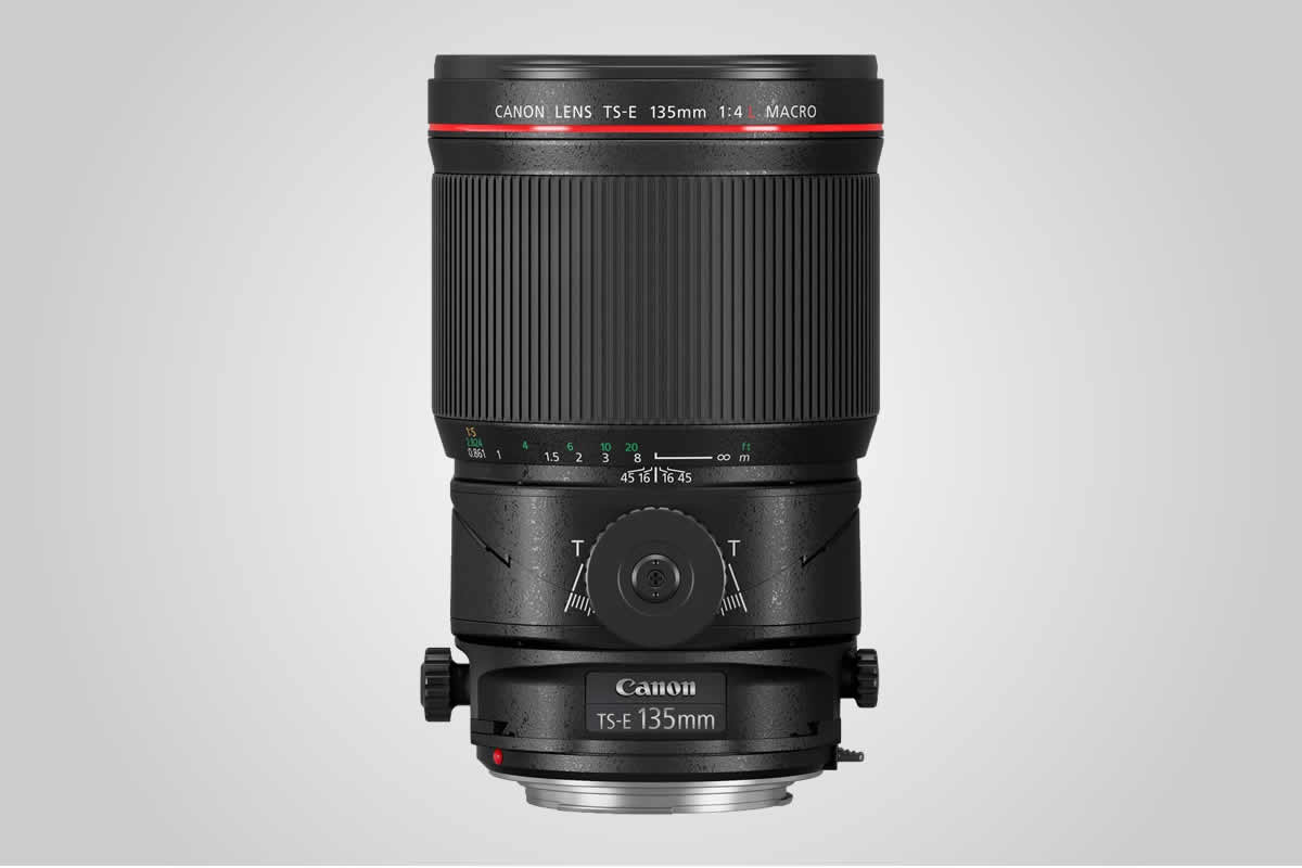 objektiv Canon TS-E 135 mm F4 L MACRO / F22.cz