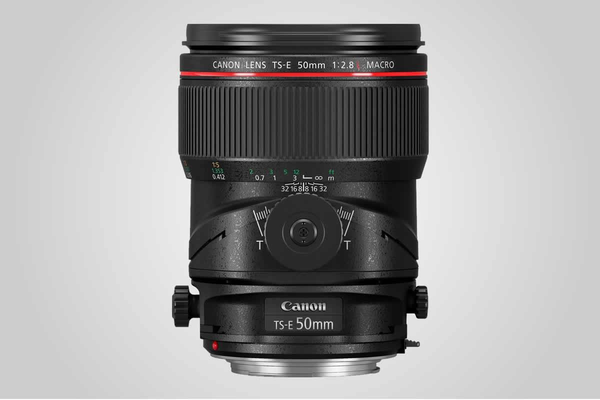 objektiv Canon TS-E 50 mm F2,8 MACRO / F22.cz