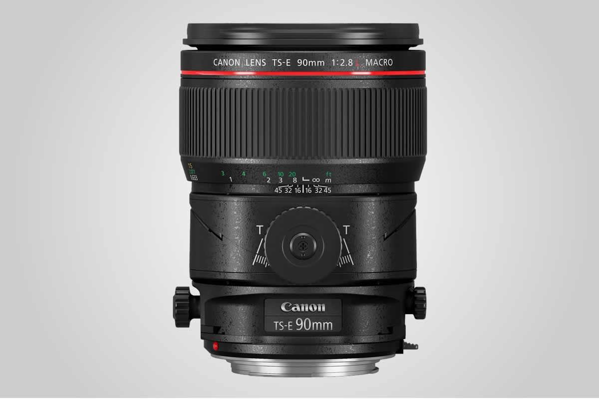 objektiv Canon TS-E 90 mm F2,8 L MACRO / F22.cz