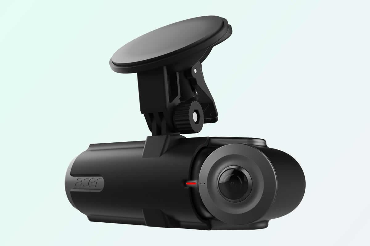 sférická videokamera do auta Acer Vision360 / F22.cz