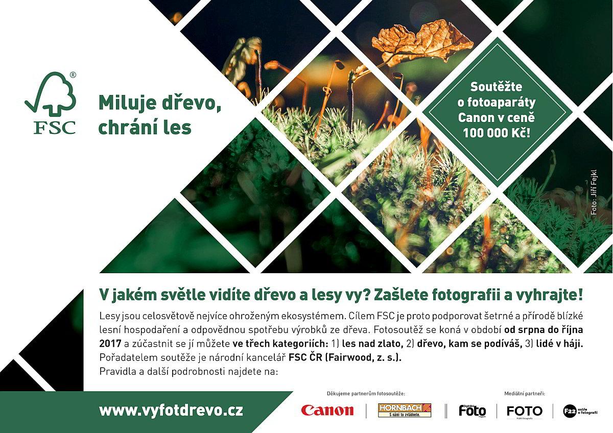 soutěž Není les jako les 2017 / F22.cz
