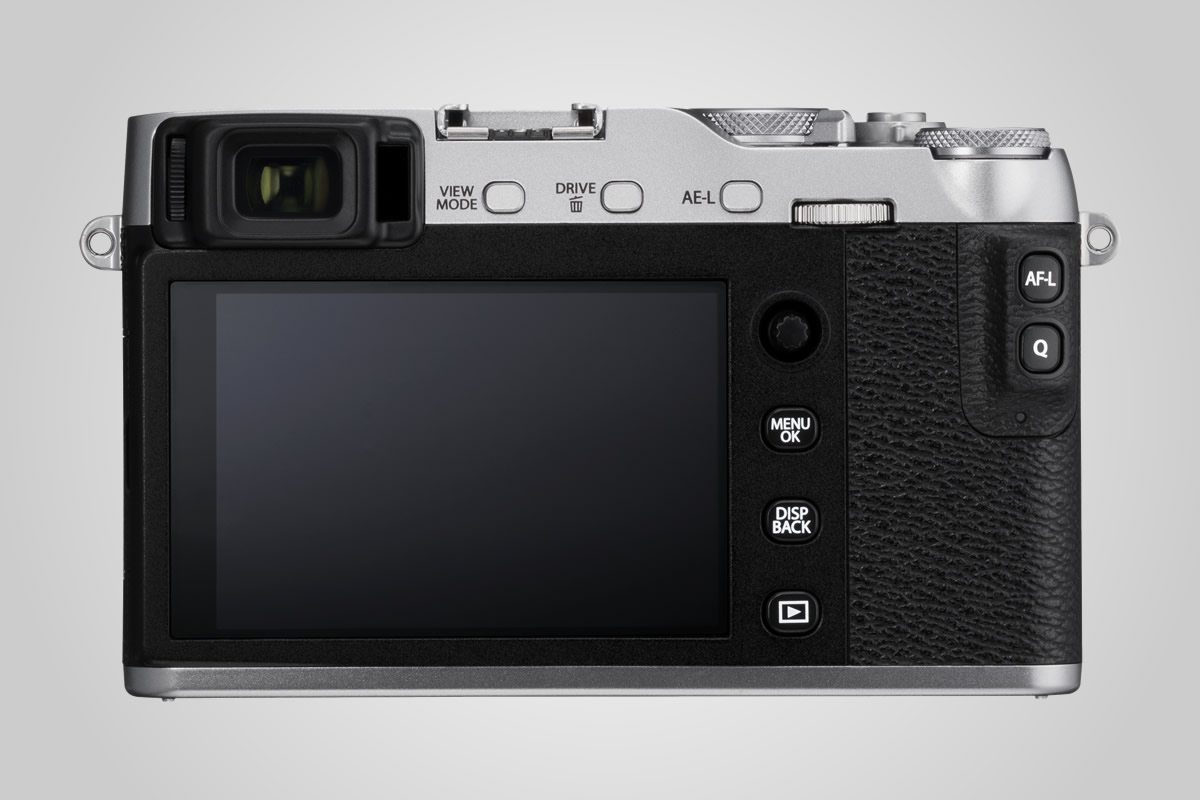 Fujifilm X-E3 zadní displej / F22.cz