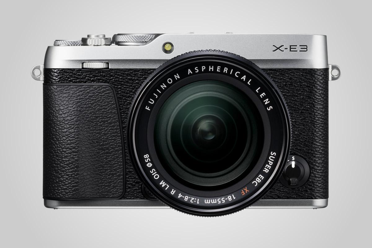 Kompaktní Fujifilm X-E3 umí 4K, má dotykový displej a vylepšený autofokus