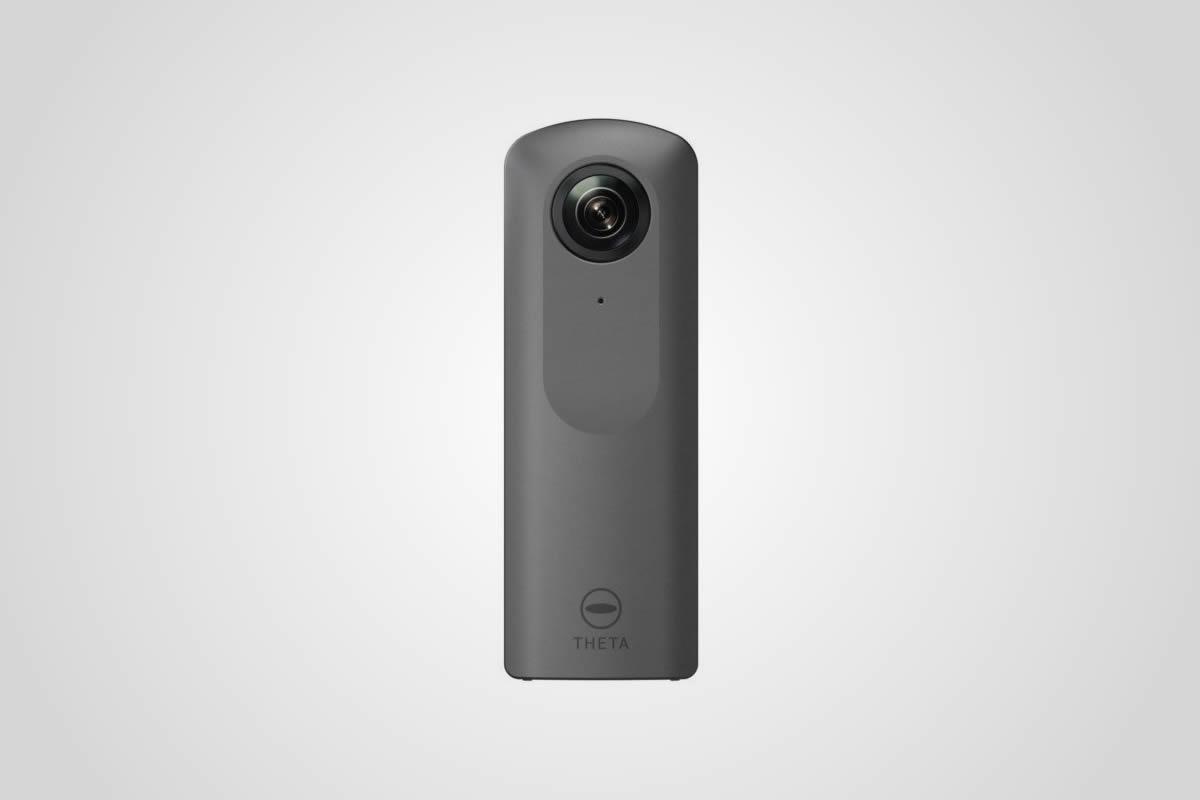 Kamera Ricoh Theta Vumí 4K video a získá certifikaci od Googlu