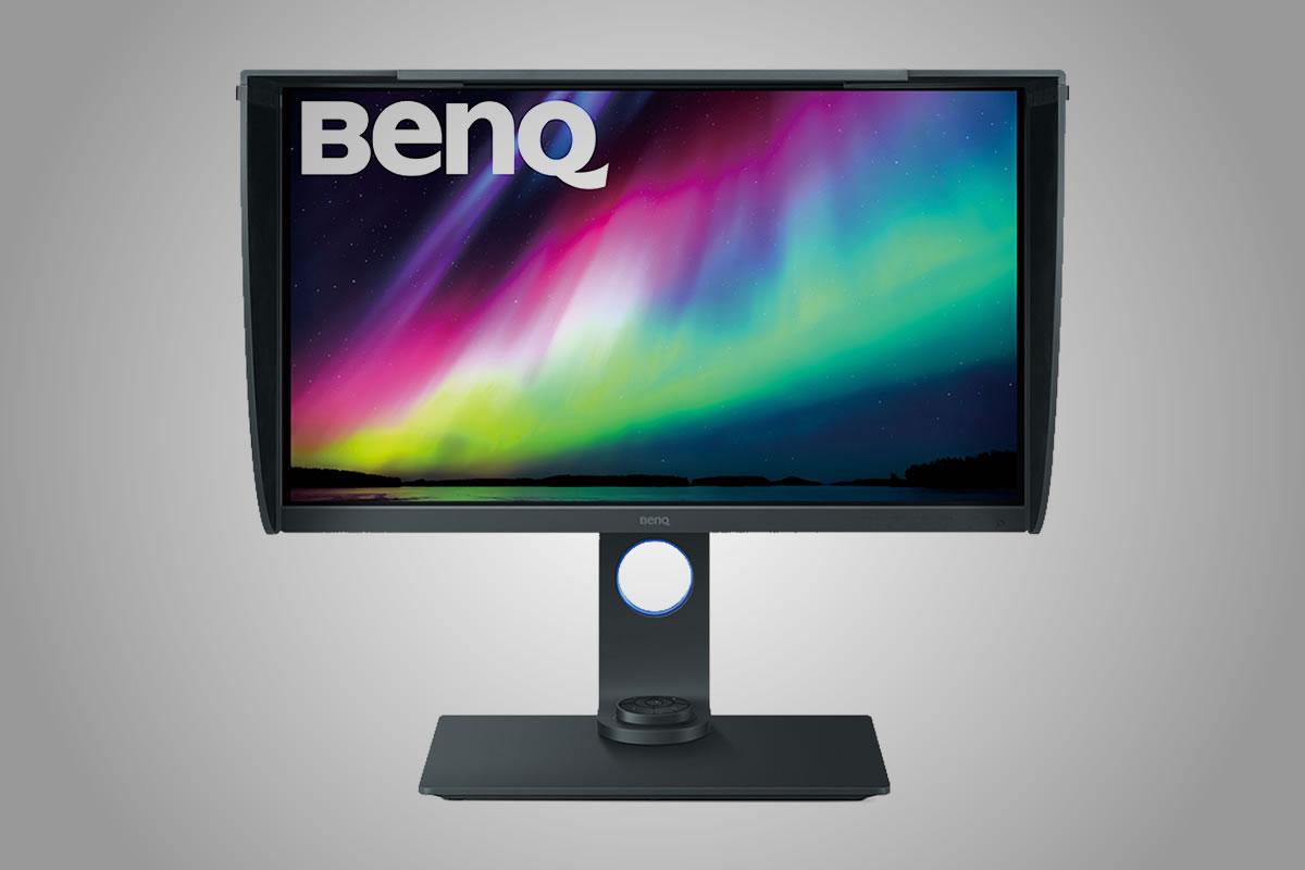 Fotografický monitor BenQ s 4K UHD rozlišením a 27palcovou úhlopříčkou
