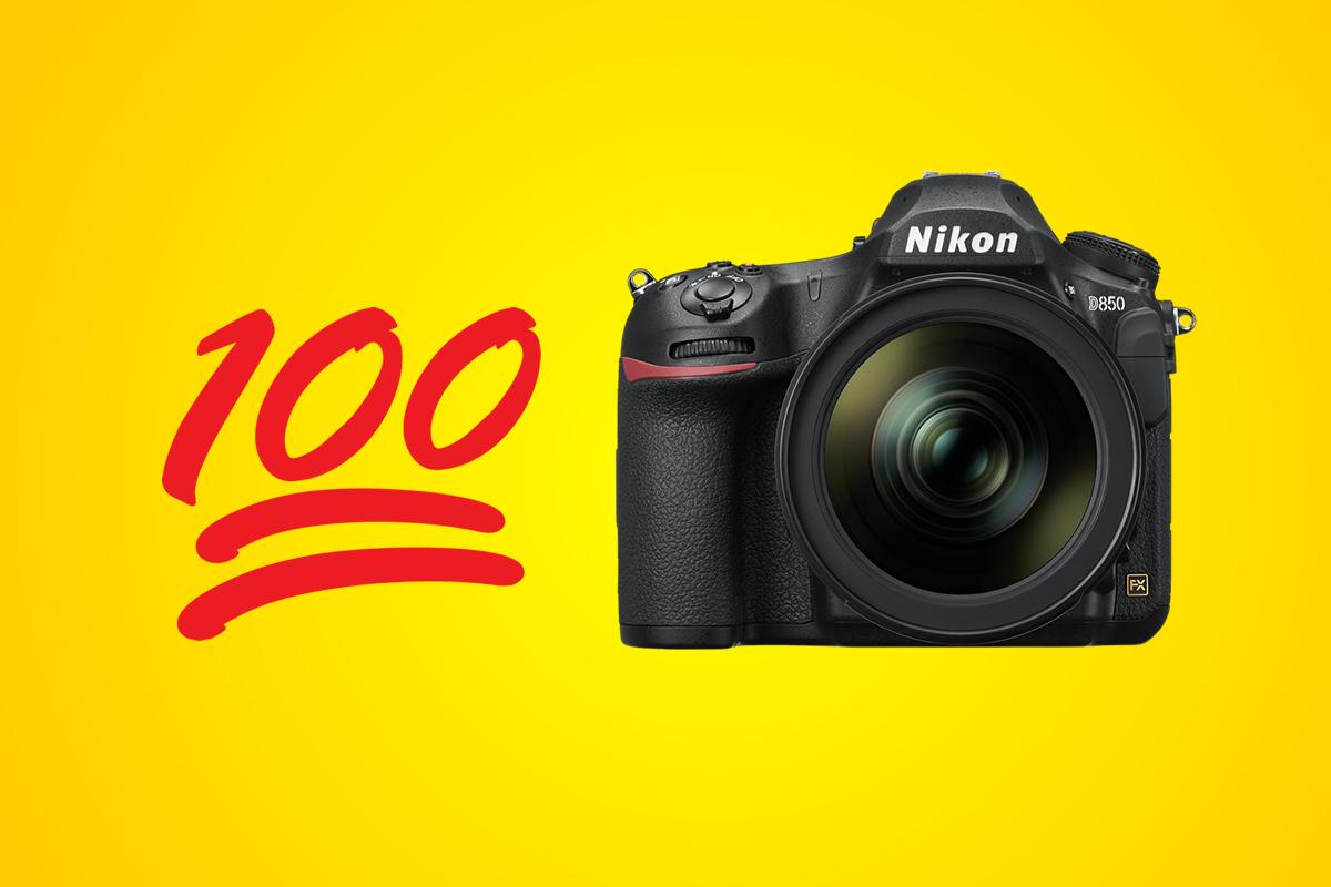 100 bodů vtestu DxOMark pro Nikon D850
