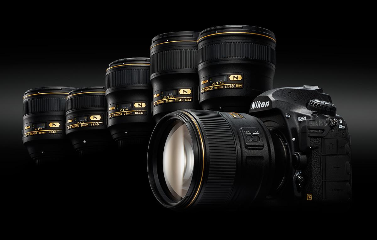 Doporučené objektivy pro Nikon D850