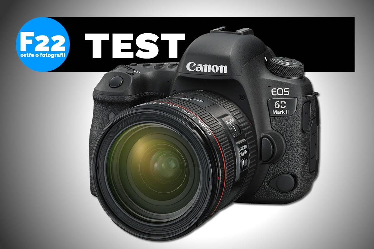 Jaký je Canon 6D Mark II?