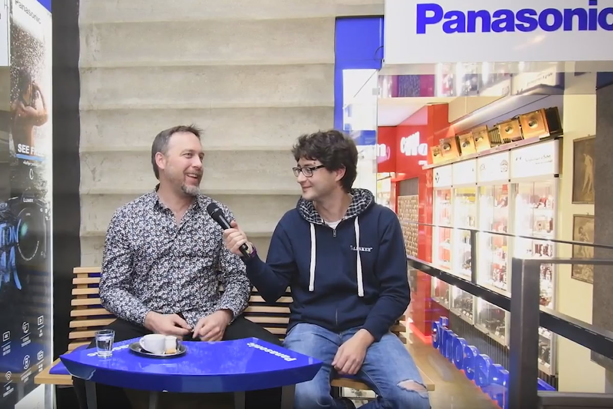 Dan Přibáň a první den fotofestivalu FotoŠkoda FEST ve třech minutách