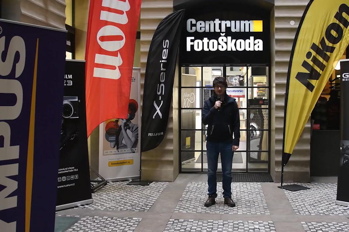 Závěrečný den podzimního fotofestivalu vCentru FotoŠkoda