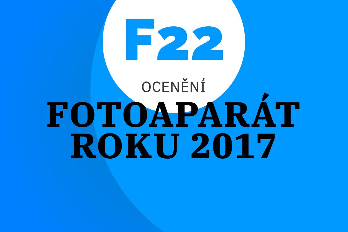 Udělili jsme ocenění Fotoaparát roku 2017