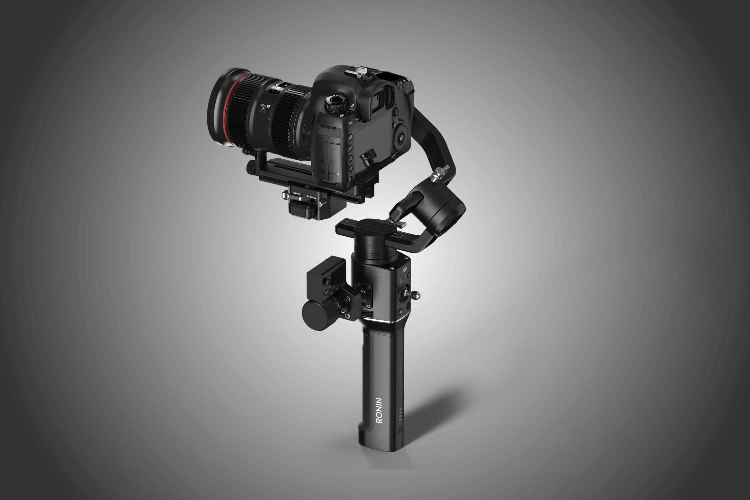 Jednoruční držák pro fotoaparáty od DJI