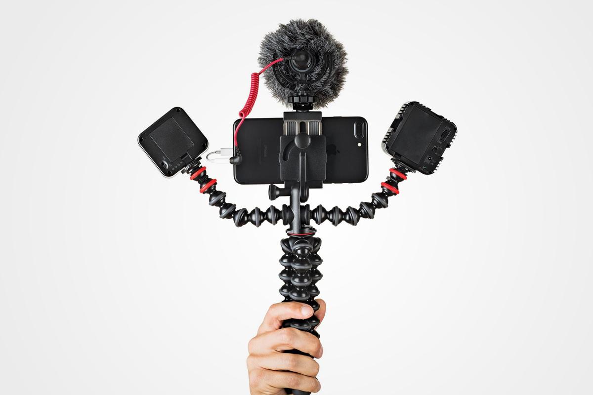 Víceúčelový stativ Joby GorillaPod Mobile Rig pro videografy
