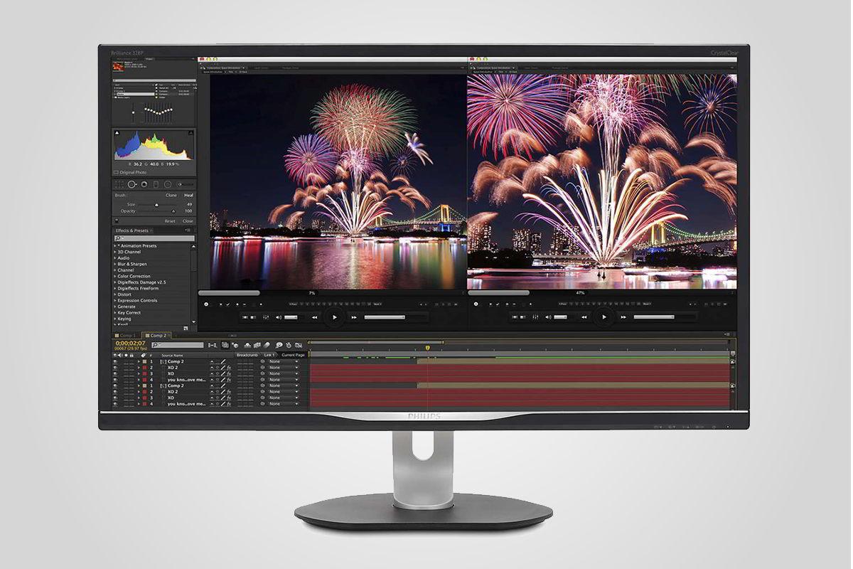32 palců a 99% Adobe RGB – nový fotografický monitor od Philipsu