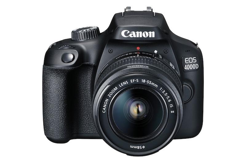 Nové digitální zrcadlovky Canon EOS 2000D a EOS 4000D cílí na začínající fotografy