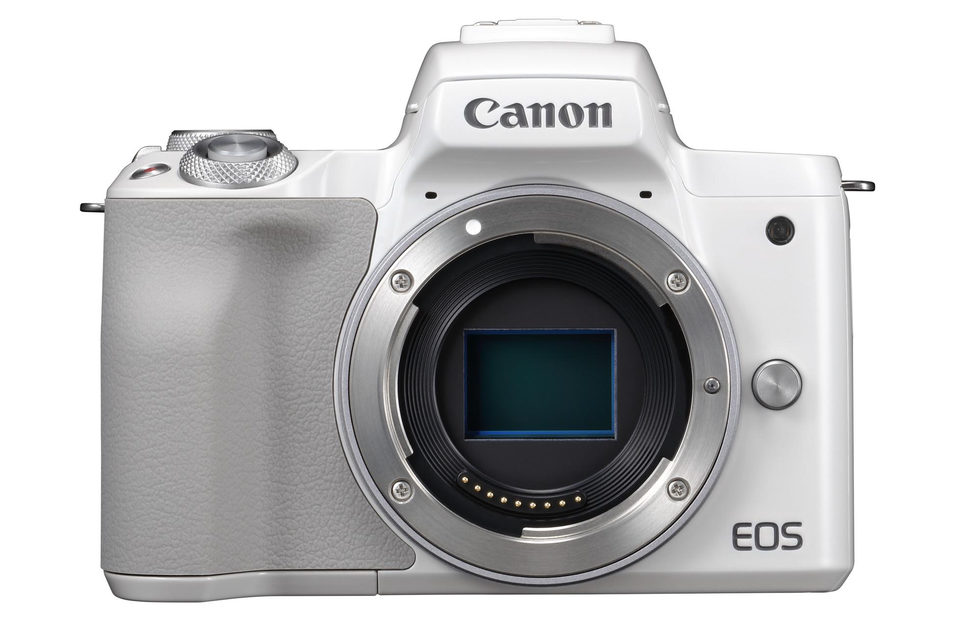Nová bezzrcadlovka EOS M50 nabídne rozlišení 4K i možnost použití široké škály objektivů Canon