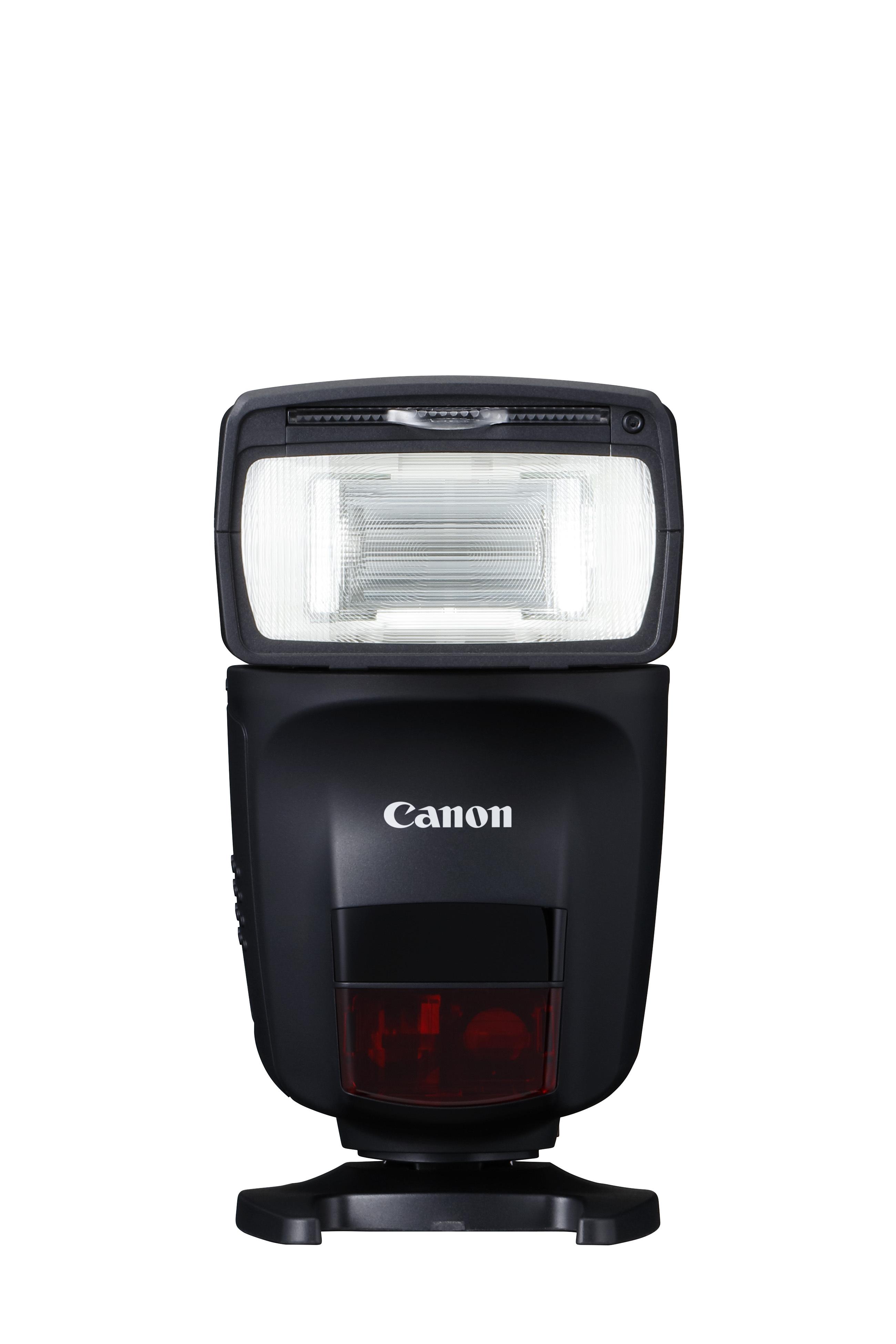 Canon Speedlite 470EX-AI: první blesk na světě sfunkcí AI Bounce, která vypočítá nejlepší natočení hlavy blesku