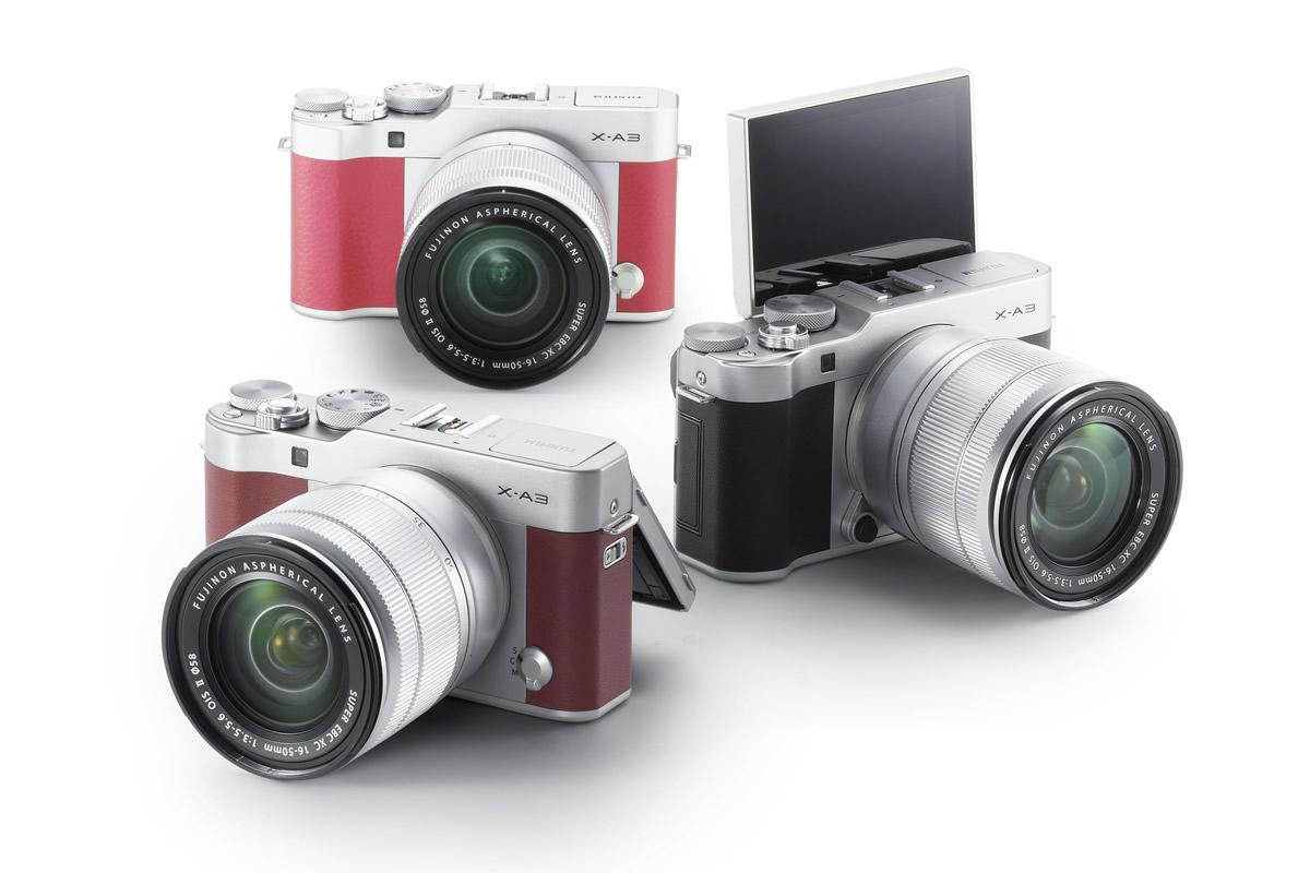 Fujifilm X-A5 barevné varianty / F22.cz
