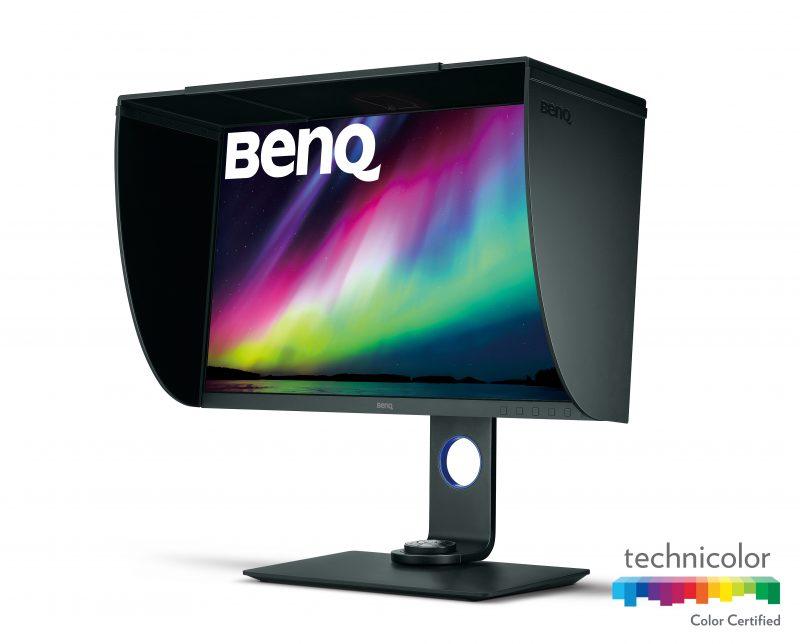 BenQ SW271: profesionální 4K monitor pro fotografy