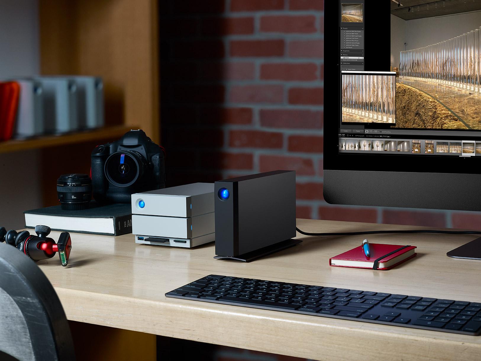 LaCie d2 Professional – externí disk pro náročné skapacitou až 10 TB