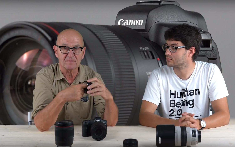 Canon EOS R: první pohled v Česku