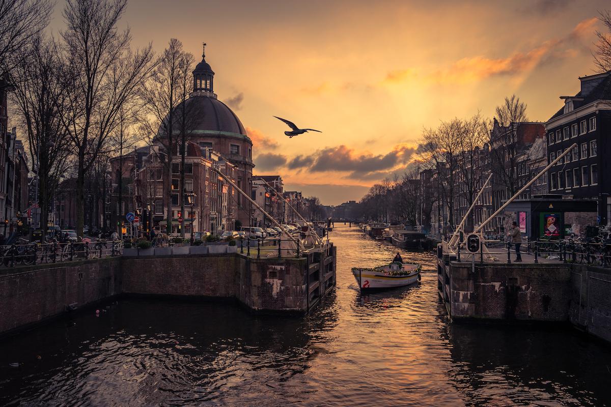 Amsterdam jedním objektivem