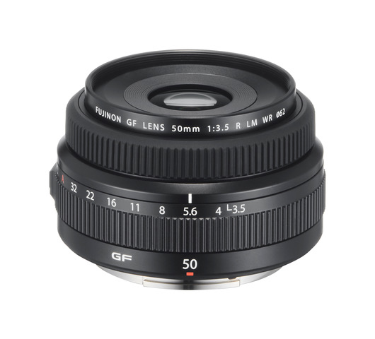 FUJINON GF50mm F3.5 R LM WR: nejmenší objektiv pro GFX