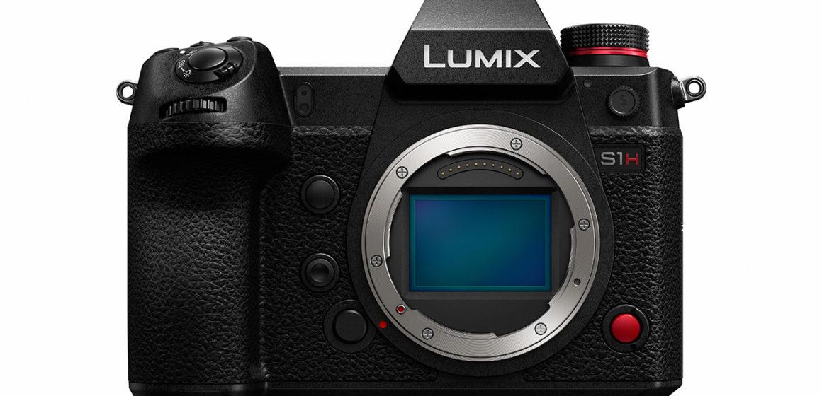 Panasonic představil filmovou full-frame bezzrcadlovku Lumix S1H a objektiv Lumix SPRO 24-70mm