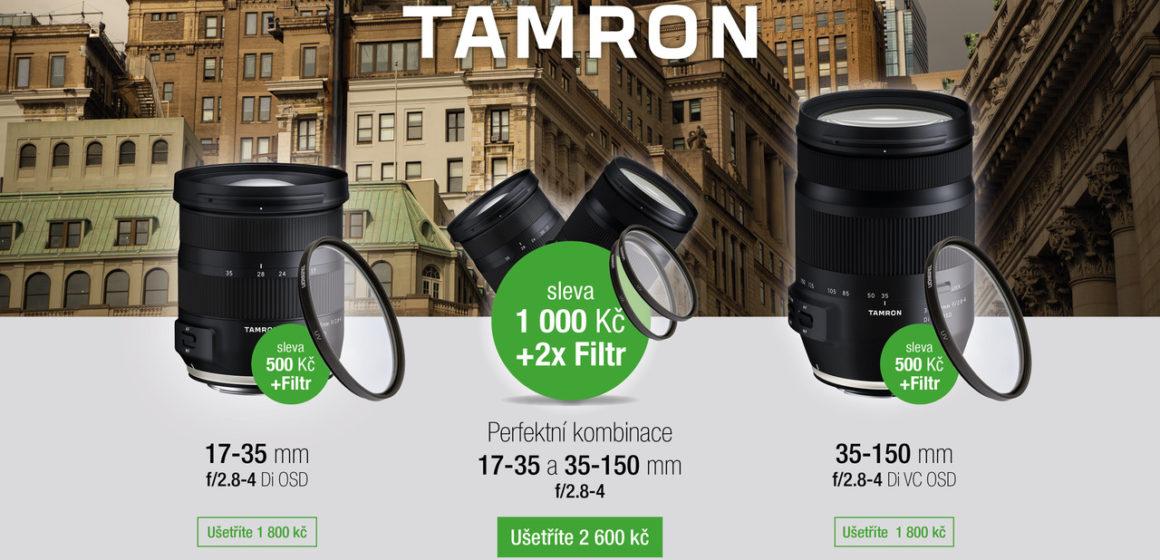 Zlevněné Tamrony 17-35 a 35-150