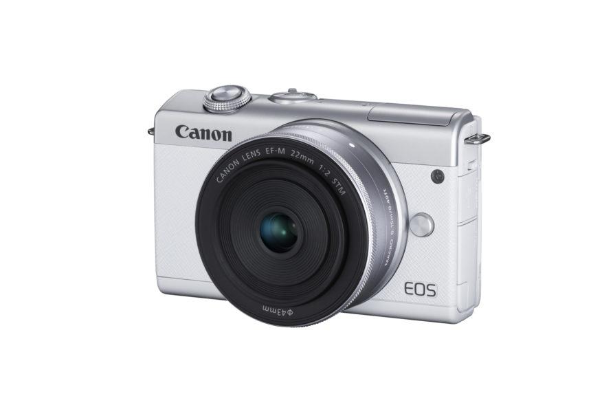 Canon představil novou bezzrcadlovku EOS M200