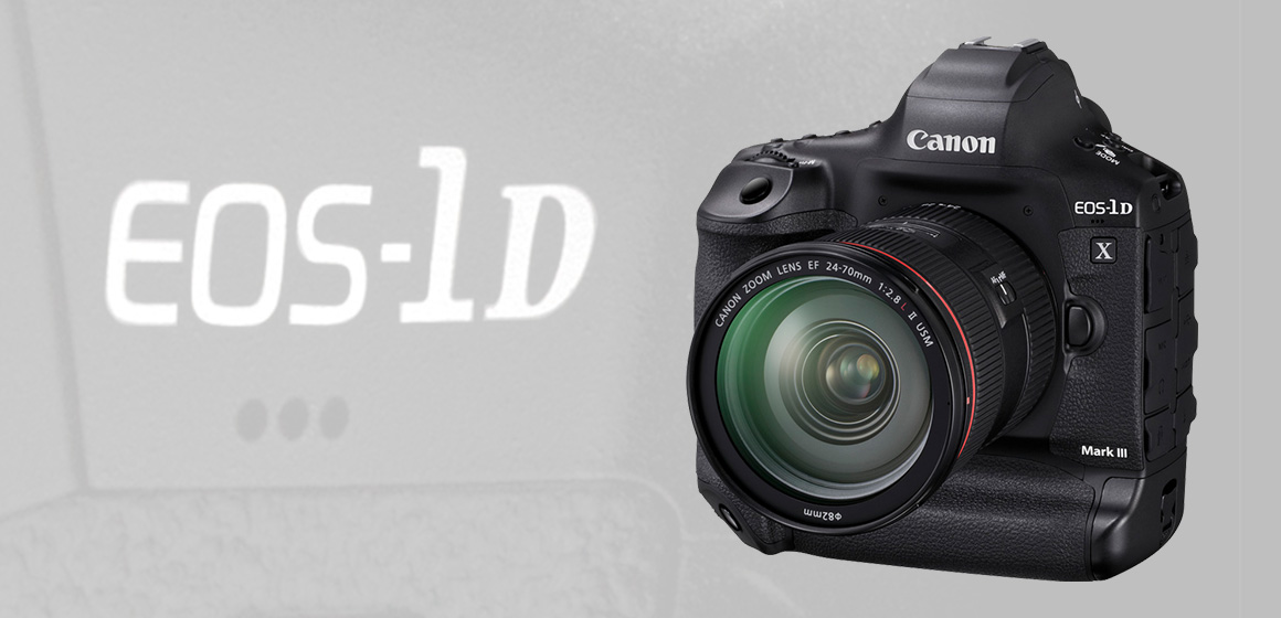 Nový akční hrdina: Canon představuje fotoaparát EOS-1D X Mark III