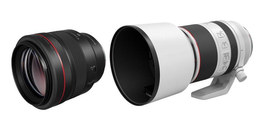 """Canon představuje nový RF objektiv, který doplní """"svatou trojici"""" skel se světelností F2.8 – a nový portrétní objektiv pro RF bajonet"""