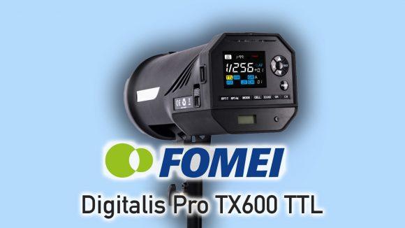 Zábleskové světlo Fomei TX-600TTL