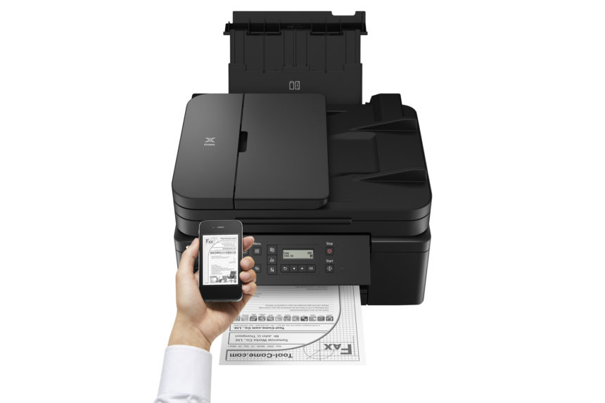 Canon představuje novou  multifunkční tiskárnu řady MegaTank