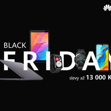 Black Friday u Huawei bude poprvé živě.