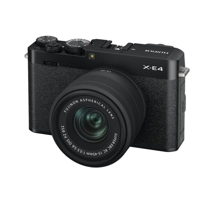 Fujifilm představuje nový fotoaparát FUJIFILM X-E4