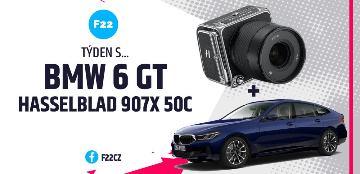 Týden s… BMW 6 GT a Hasselblad 907X 50c